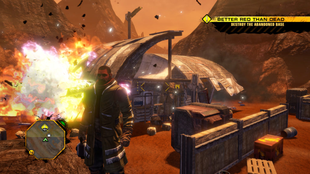 Red Faction Guerrilla ReMarstered Game Wiki
