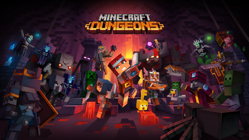 Minecraft Dungeons PC Free Download