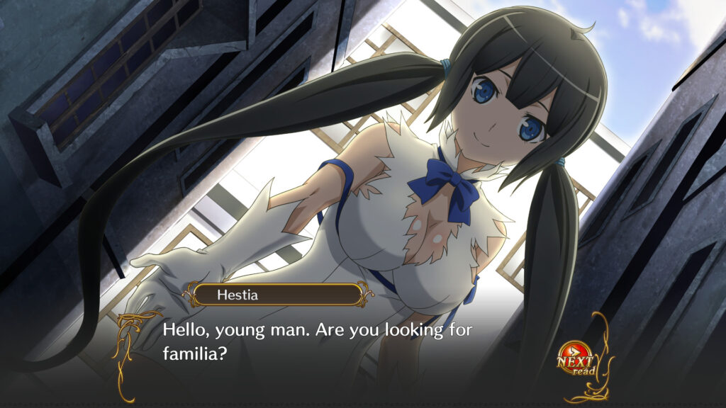 Is It Wrong to Try to Pick Up Girls in a Dungeon Infinite Combate Game Wiki