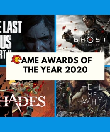 Game Awards Of The Year 2020