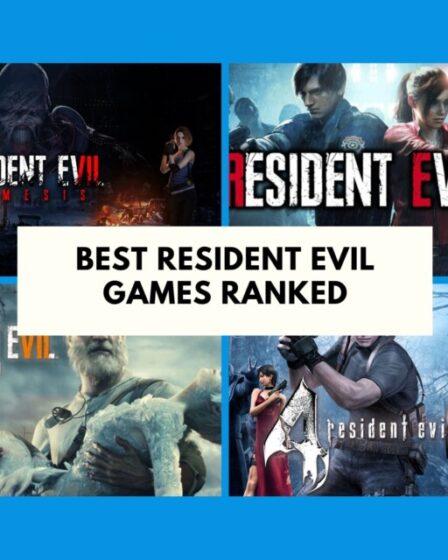 Resident Evil Games Ranked