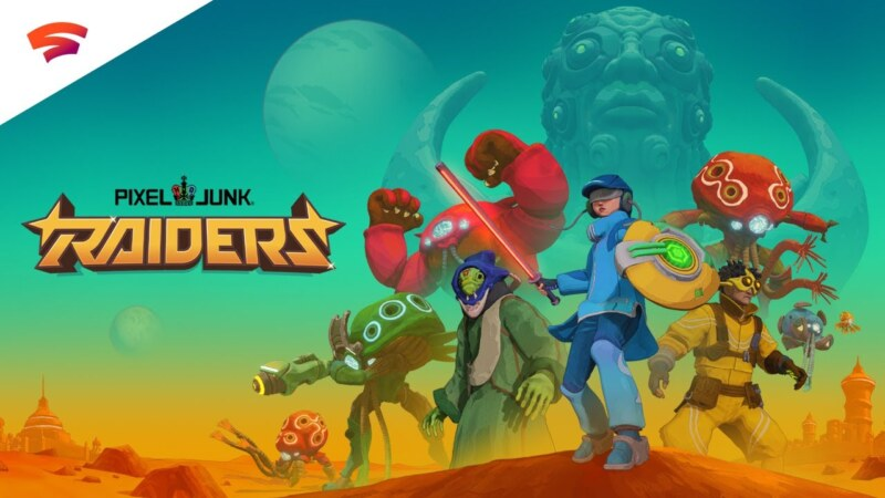 PixelJunk Raiders