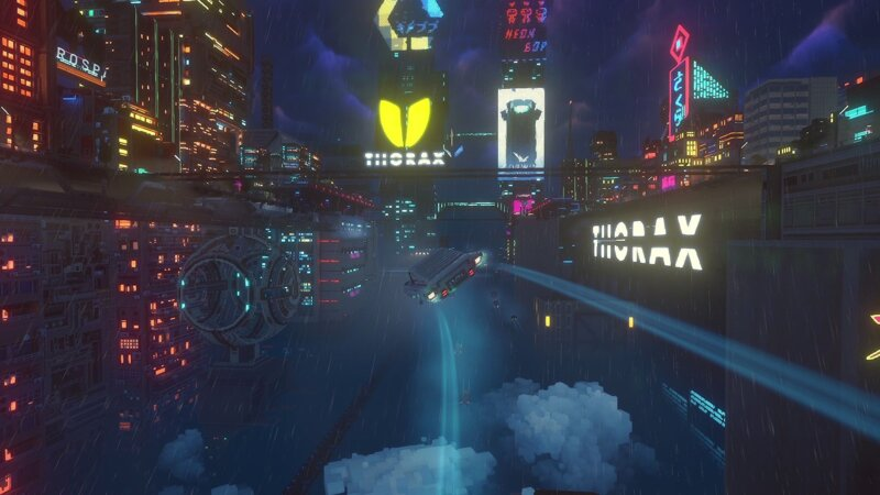 """Cloudpunk's """"sequel-sized"""" City Of Ghosts"""