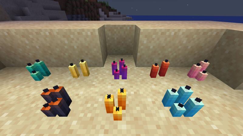 Minecraft Candle