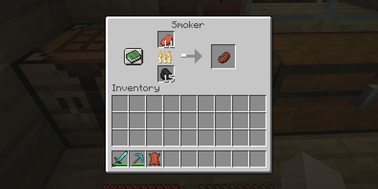 How to use a Minecraft Smoker