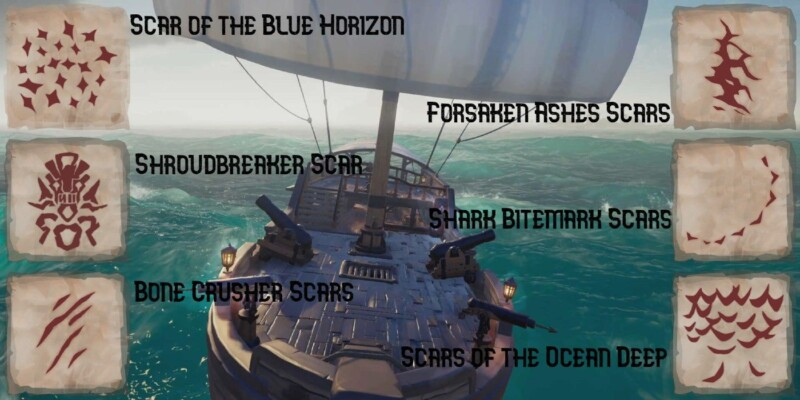 Sea of Thieves Scars