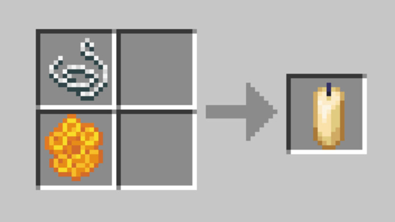 Candles in Minecraft