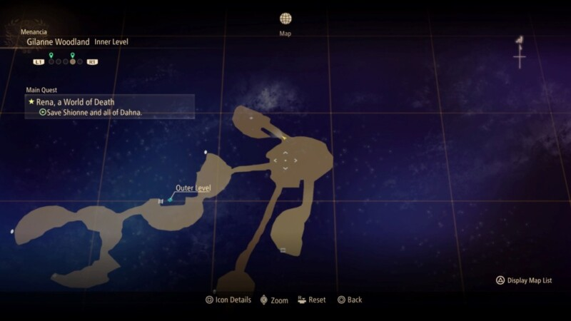 Bizarre Megacore Location Map
