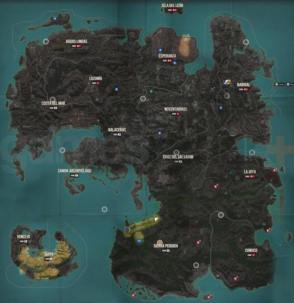Full Far Cry 6 map